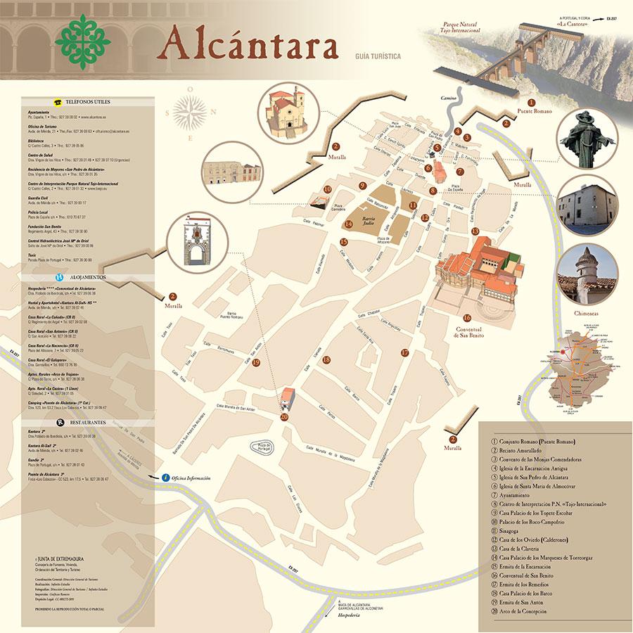 Guía turística de Alcántara